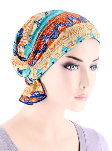 ABBEY-646#The Abbey Cap in Tropical Blue Sunset