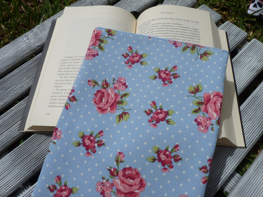 Roses book sleeve floral fabric book bag book lover gift book roses book sleeve floral fabric book bag book lover gift book pouch m4hsunfo