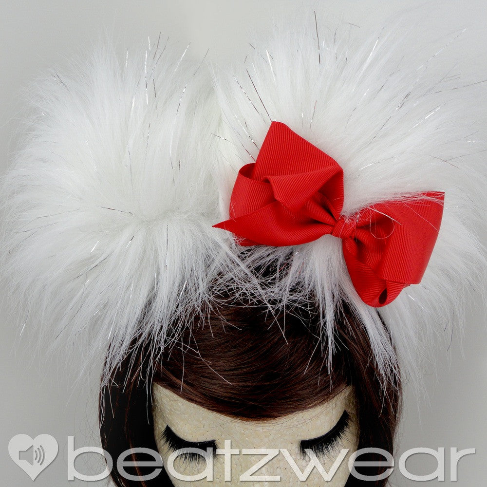 Hello Kitty inspired ears - red - Beatzwear
