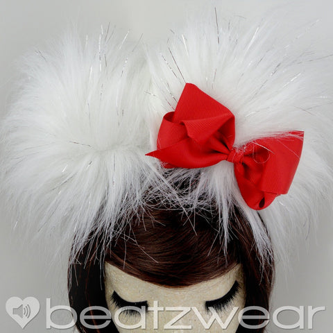 Hello Kitty inspired ears - red