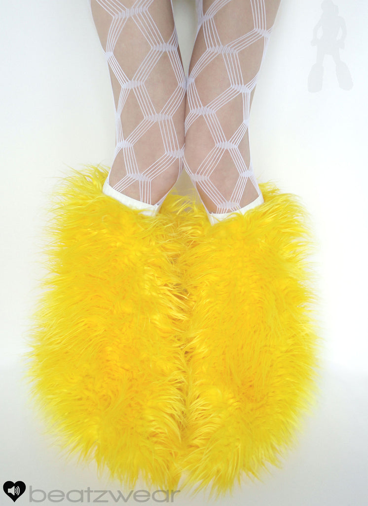 Superpoof fluffies yellow - Beatzwear
