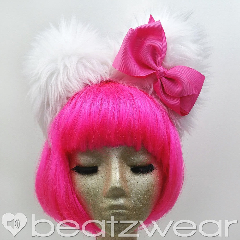 Hello Kitty inspired ears - pink - Beatzwear