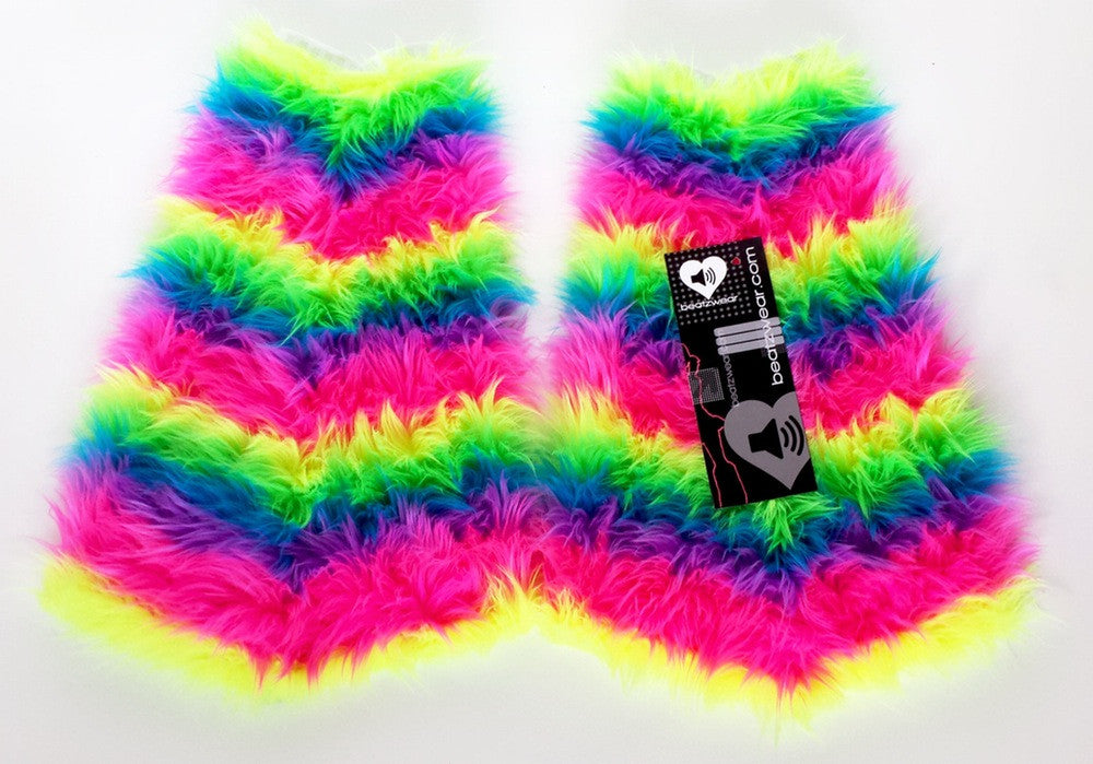 NEON rainbow fluffies - Beatzwear - 1