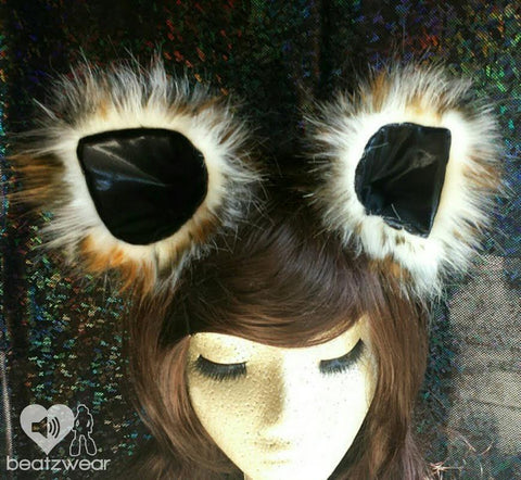 Disco kitty ears - Leopard print