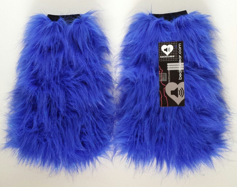 Glitter fluffies royal blue - Beatzwear