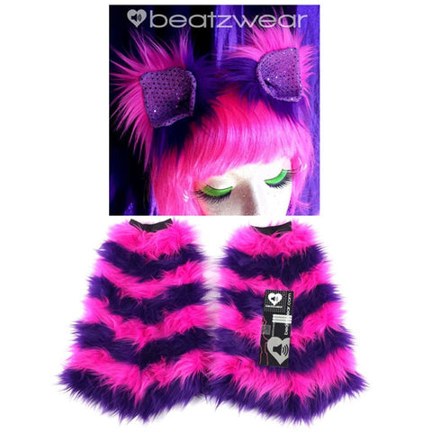 Cheshire Cat ears and fluffies