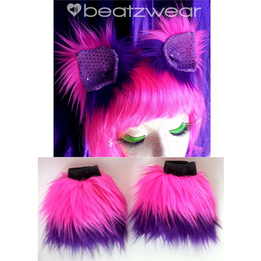 Cheshire Cat ears and cuffs