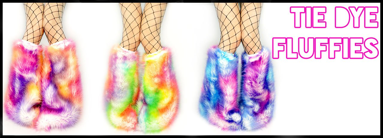 Beatzwear fluffies tribal fur rave fluffies