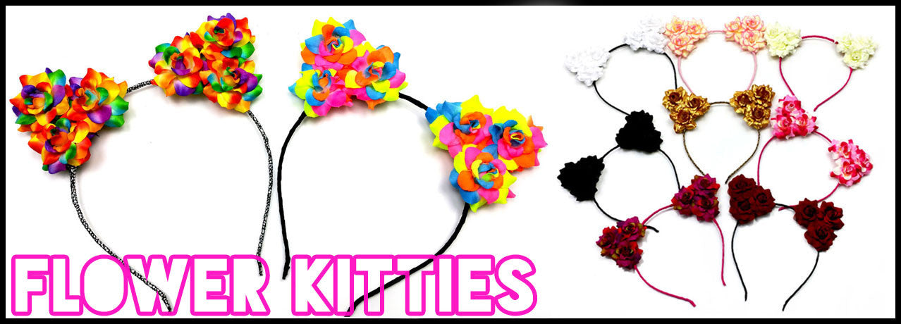Beatzwear flower kitty headbands