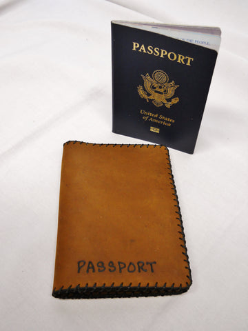 Passport Case, two pockets
