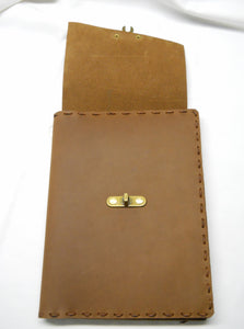 Clasp Journal, Rustic Brown