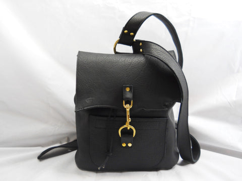Raw Black Backpack