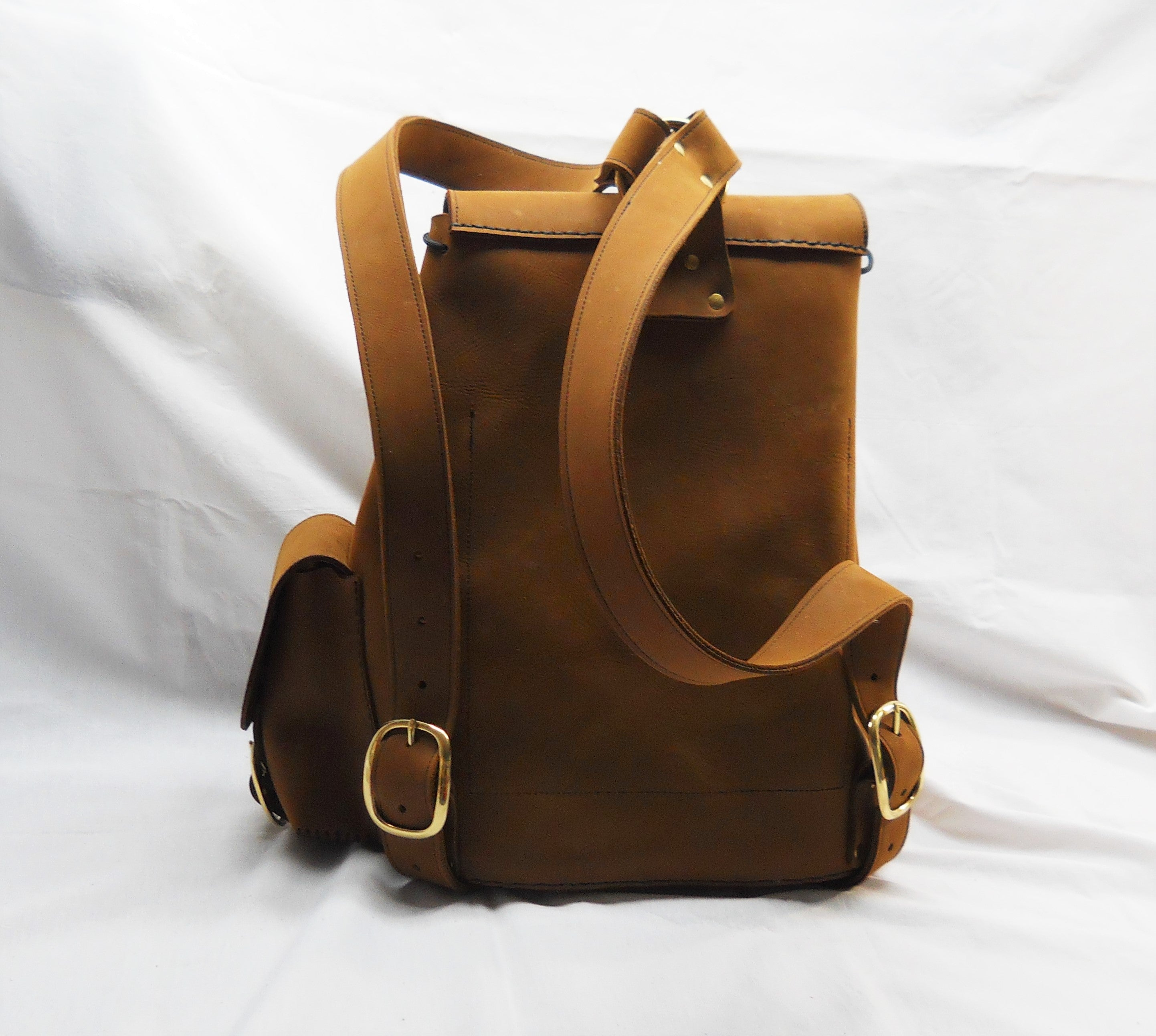 The Weekender Backpack, Medium Brown