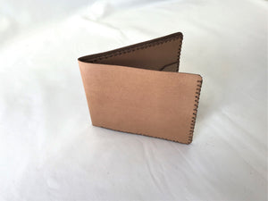 Natural Wallet, four pockets