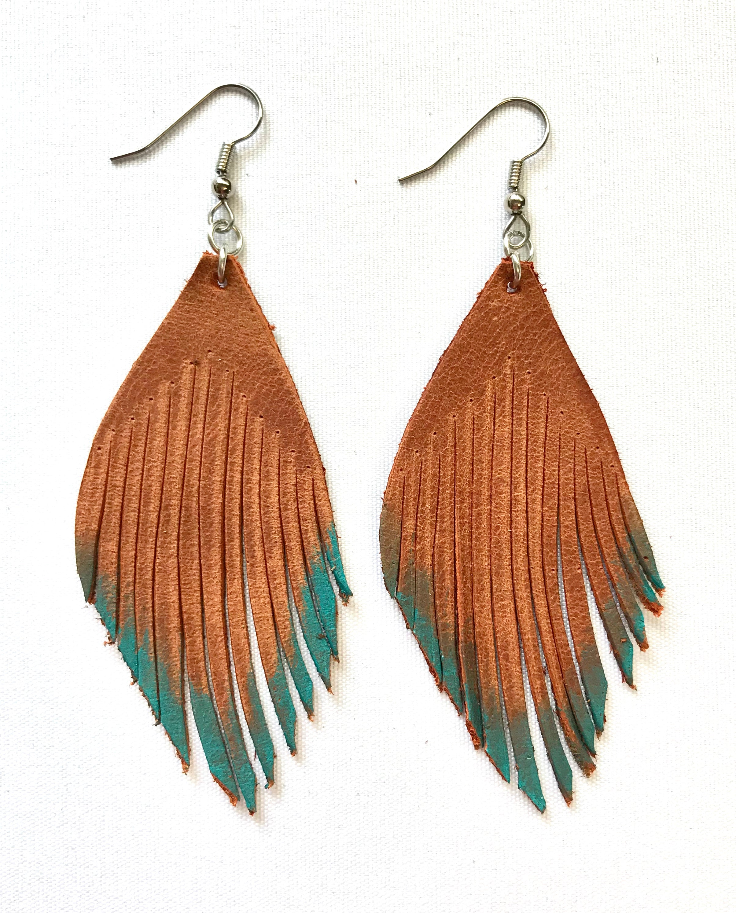 Pretty Feathery Earrings