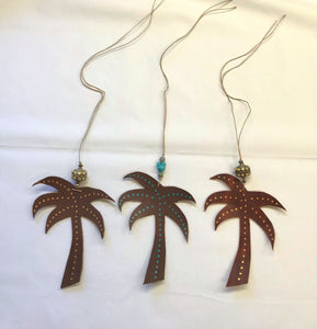 Rear View Ornaments- Palms & NC