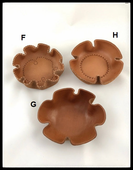 Leather Bowls