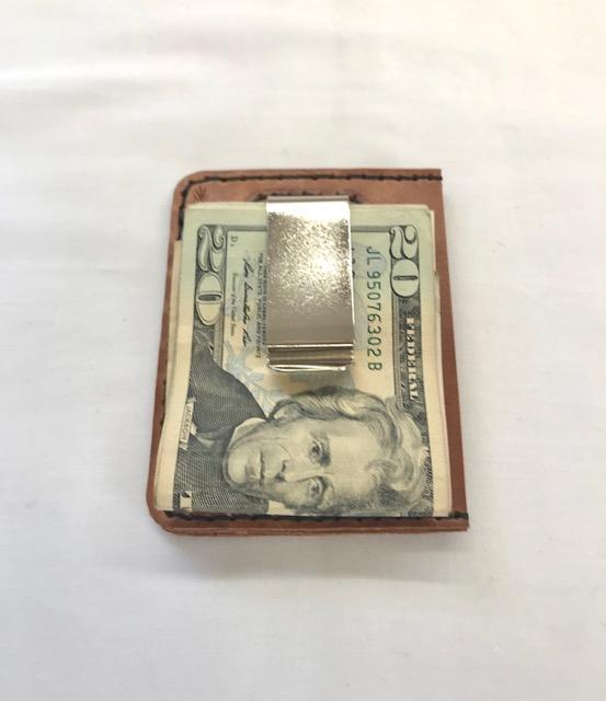 Money Clip Wallet, Three Pocket