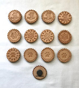 Leather Magnets