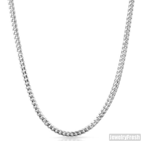 Stainless Steel 4mm Miami Franco Chain
