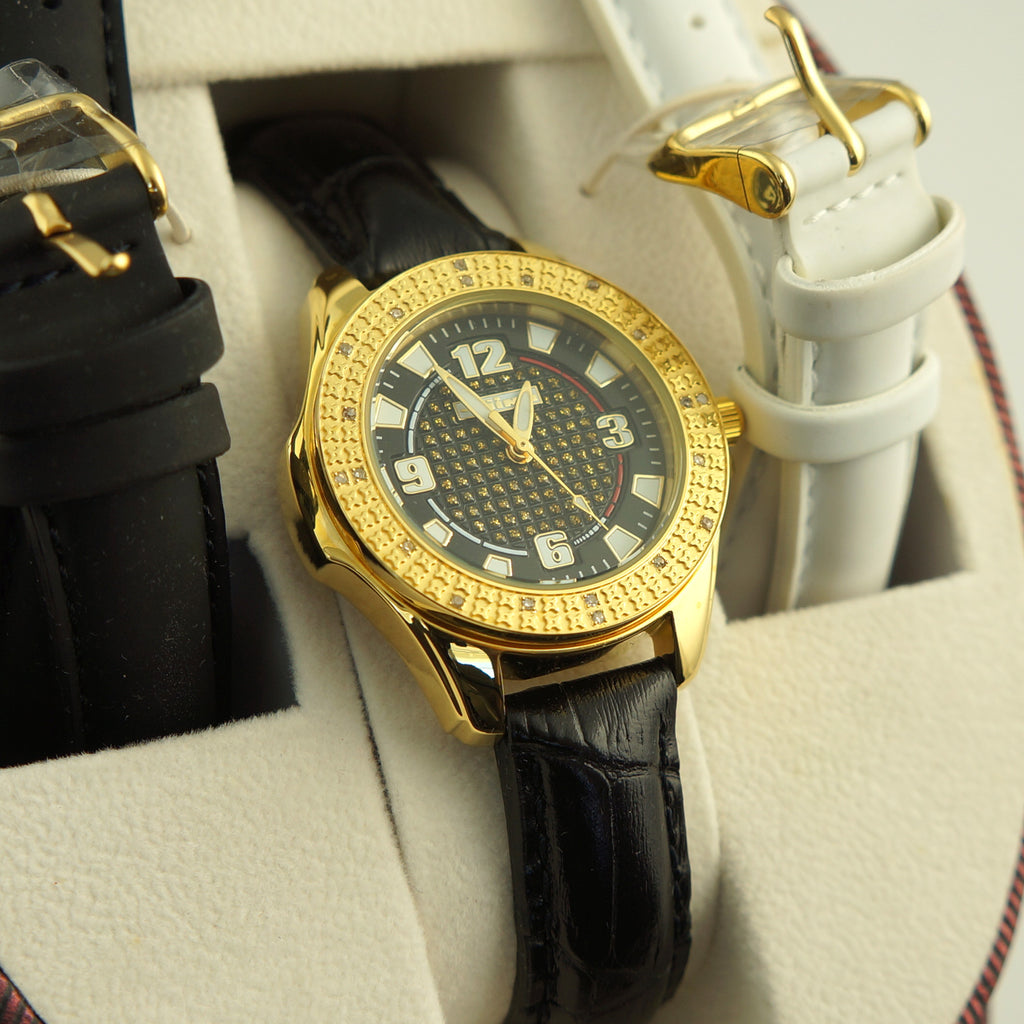 Gold 0.20 Carat Ladies Jojino Diamond Watch