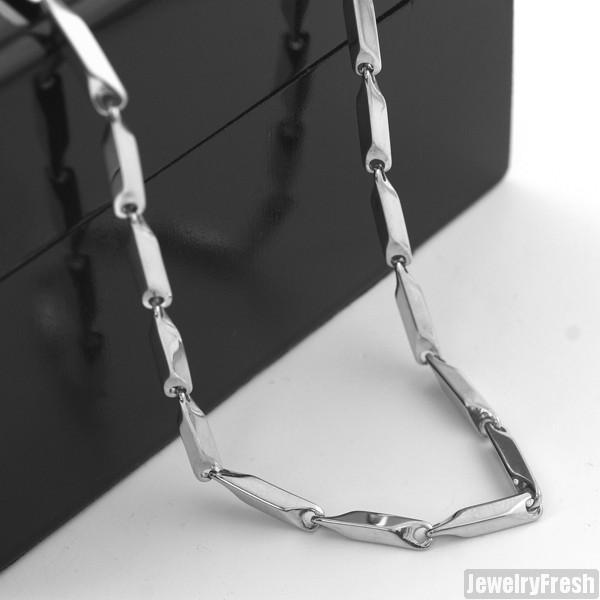 3mm Stainless Steel Polished Pillar Chain