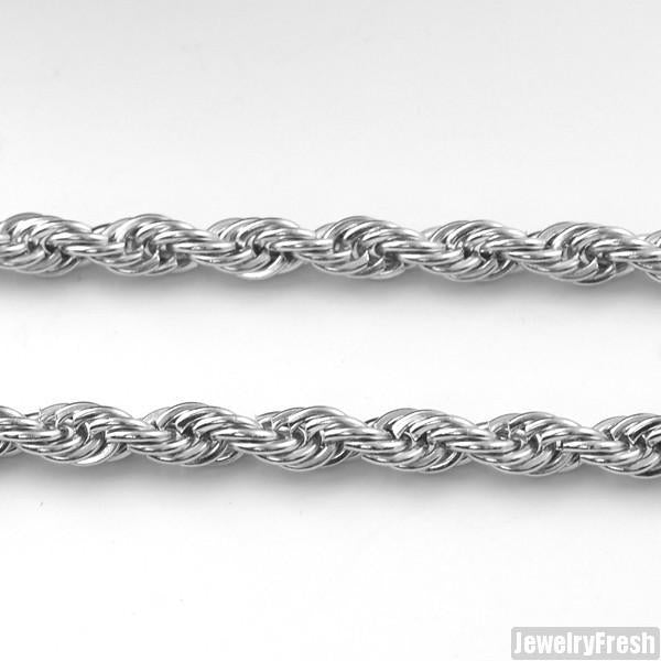 4mm Stainless Steel French Rope Chain