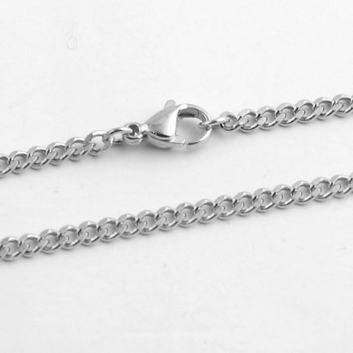 3mm Stainless Steel Small Cuban Chain