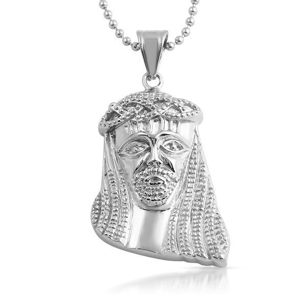 Stainless Steel Hip Hop Jesus Piece