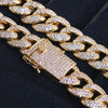 15mm High End Iced Out Miami Cuban Chain