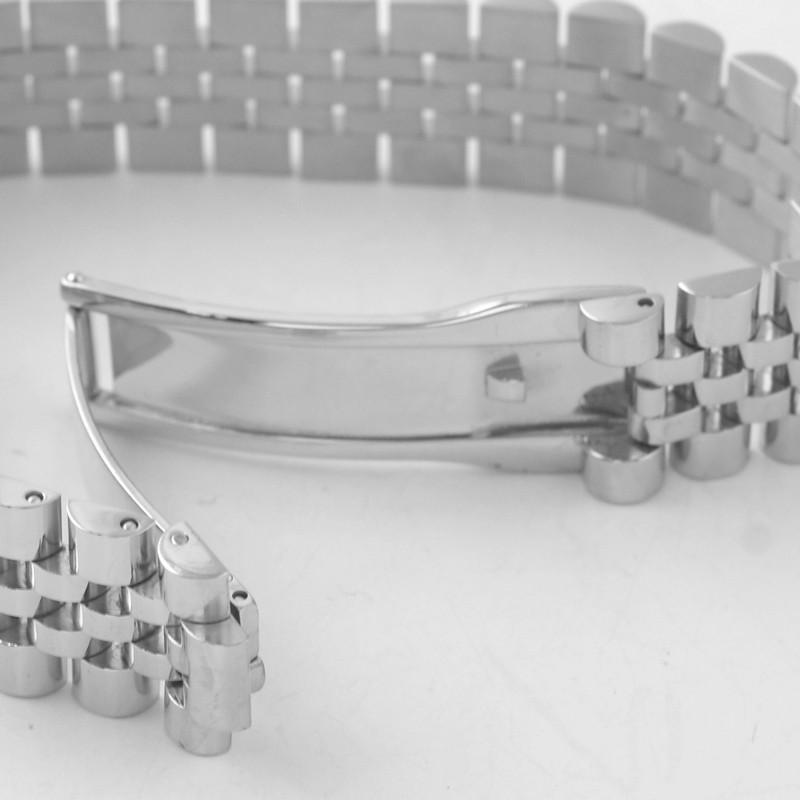 Stainless Steel Polished Jubilee Bracelet