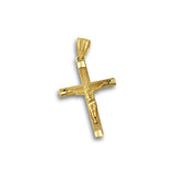 10K Gold Detailed Crucifix Pendant