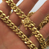 10mm 14K Gold IP Premium Miami Cuban Chain