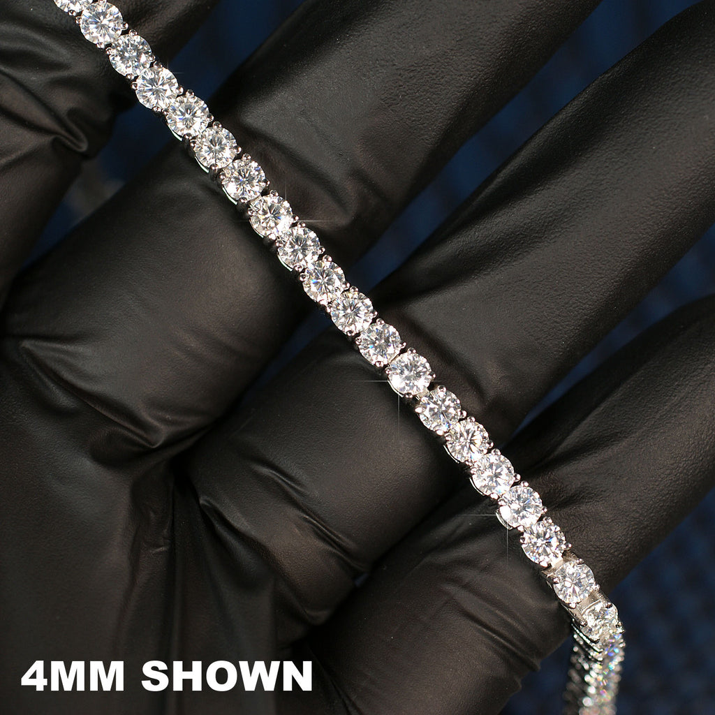 VVS Moissanite Tennis Chain or Bracelet