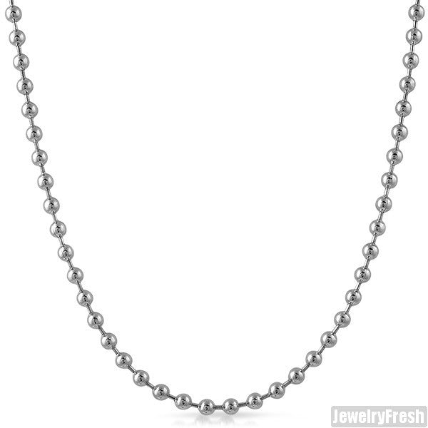 4mm Stainless Steel Bead Chain