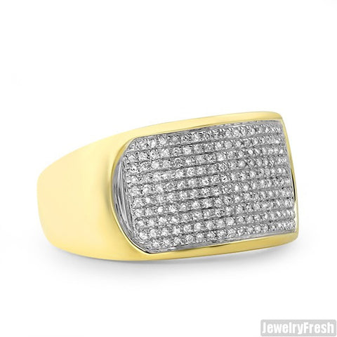 10K Gold 0.50 Carat Simple Diamond Ring