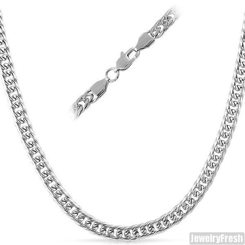 6mm Stainless Steel Miami Cuban Chain