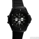 Blacked Out Mens Sport Watch