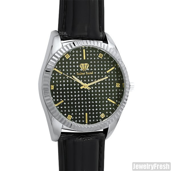 Two Tone Real Diamond Luxury Watch