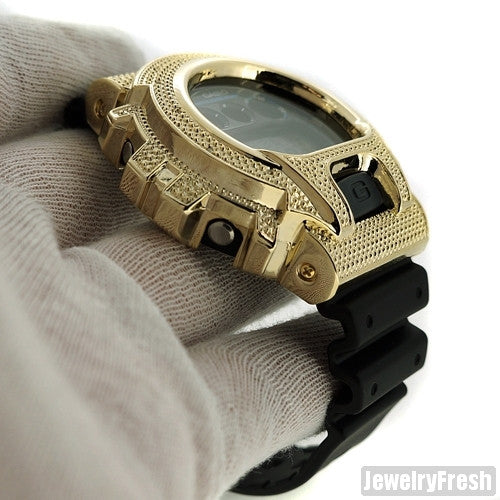 Gold 0.12 Carat Genuine Diamond Casio G Shock