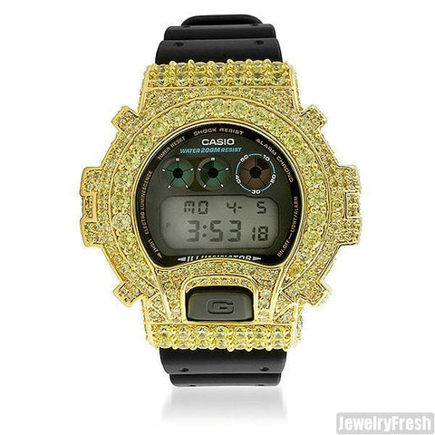 Canary Custom Big Stone 13.5 CTW G-Shock DW6900