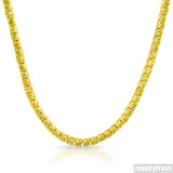 Gold and Yellow Stones Lemonade Lab Made Chain
