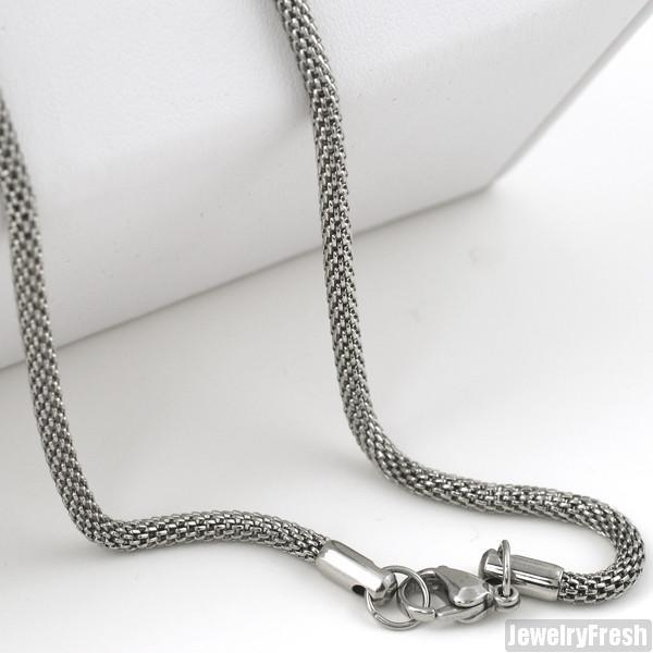 3.3mm Stainless Steel Unique Popcorn Chain