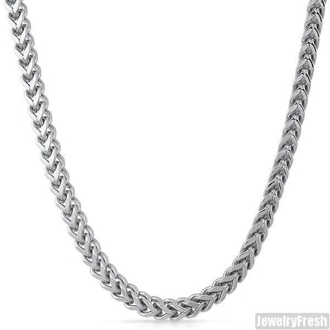 6mm Jumbo Stainless Steel Franco Chain