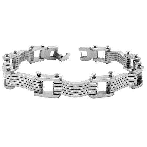 Stainless Steel Mens IRON CLAD Bracelet