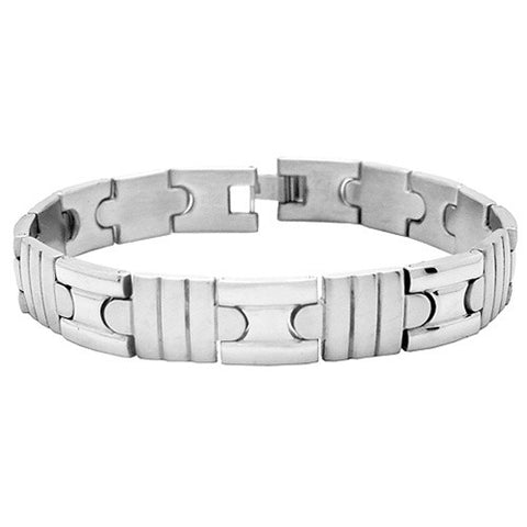 Unique Polished 316L Steel HERCULES Bracelet