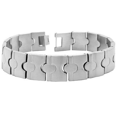 Mens Brushed Steel COOLFACTOR Bracelet
