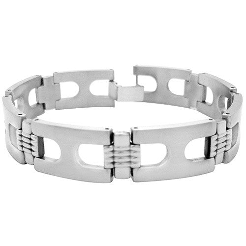Unique Stainless Steel Mens IMMORTAL Bracelet