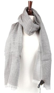 Fendi Grey Scarf