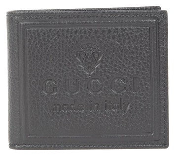 Gucci Embossed Leather Men's Wallet - Brown